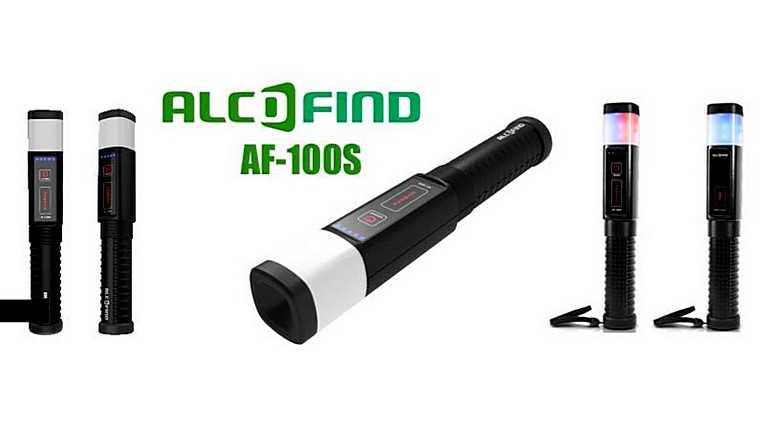 Профессиональный алкотестер Alcofind AF-100S