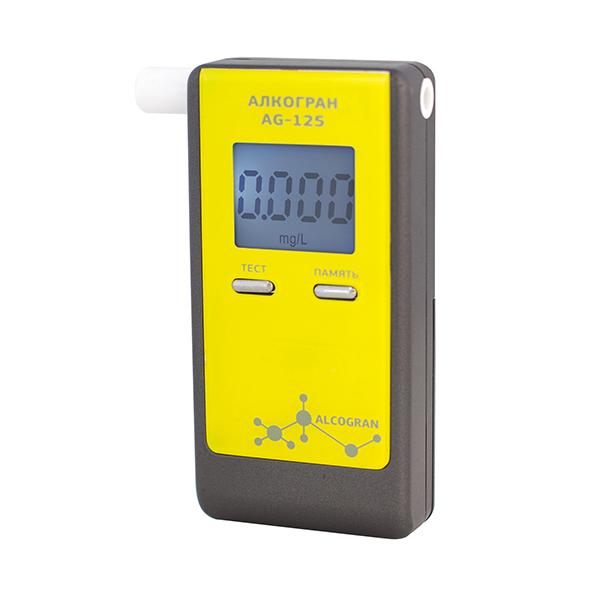 Персональный индикатор алкоголя ALCOGRAN (АЛКОГРАН) AG-125
