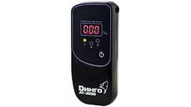 Персональный индикатор алкоголя Динго АТ-2000
