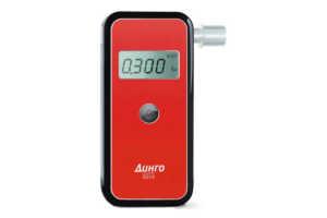 Анализатор Динго Е010 - высокочувствительный индикатор алкоголя, предназначенный для обнаружения алкоголя в организме человека исследованием выдыхаемого воздуха