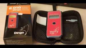 Анализатор паров этанола в выдыхаемом воздухе Динго Е010